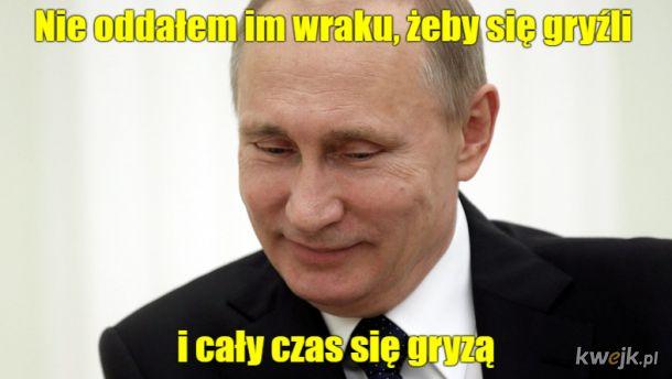 Zadowolony Władimir