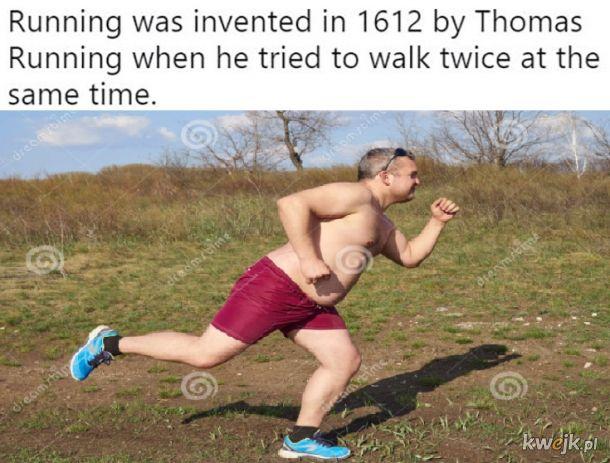 Wynalazek biegania