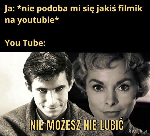 W świecie You Tube wszystko wszystkim się podoba