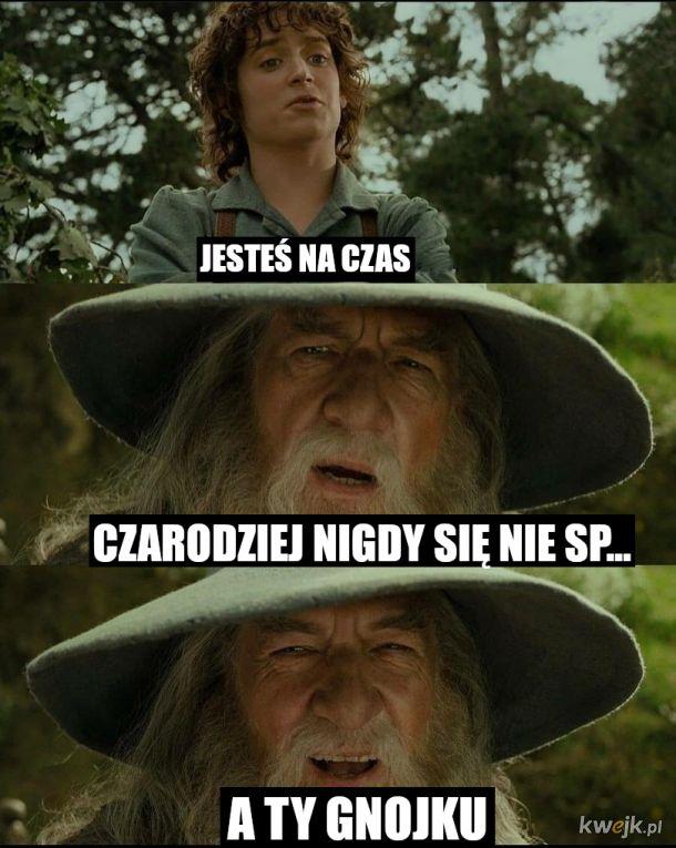 I się Gandalf ten tegez