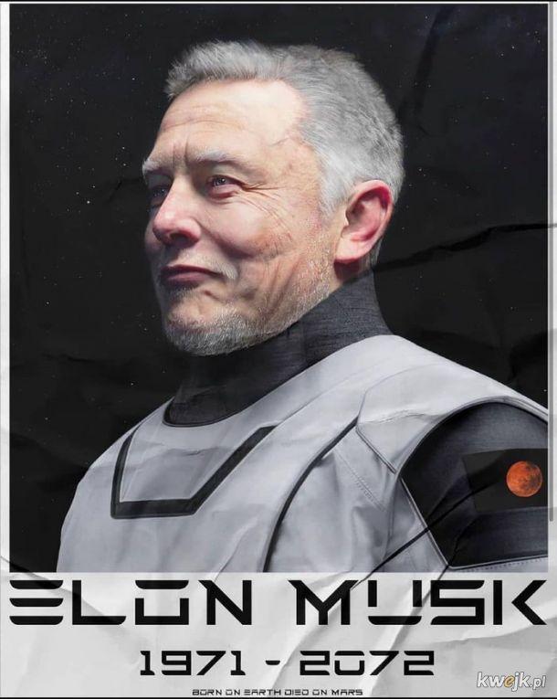 Pierwszy prezydent zjednoczonych kolonii Marsa