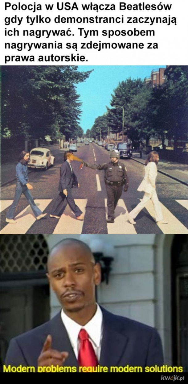 Beatlesowa policja