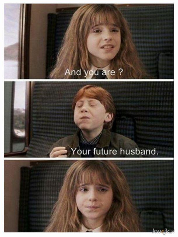 Ty Jesteś Harry Potter! Ja, Hermiona Granger...