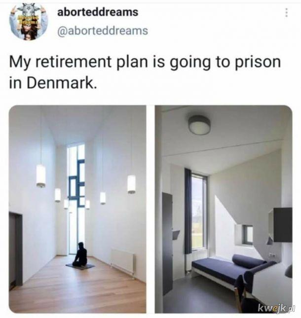 Wcale nie muszę czekać do emerytury