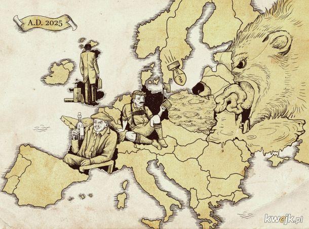Angol uciekł, Niemcy w ropie a Francuz...