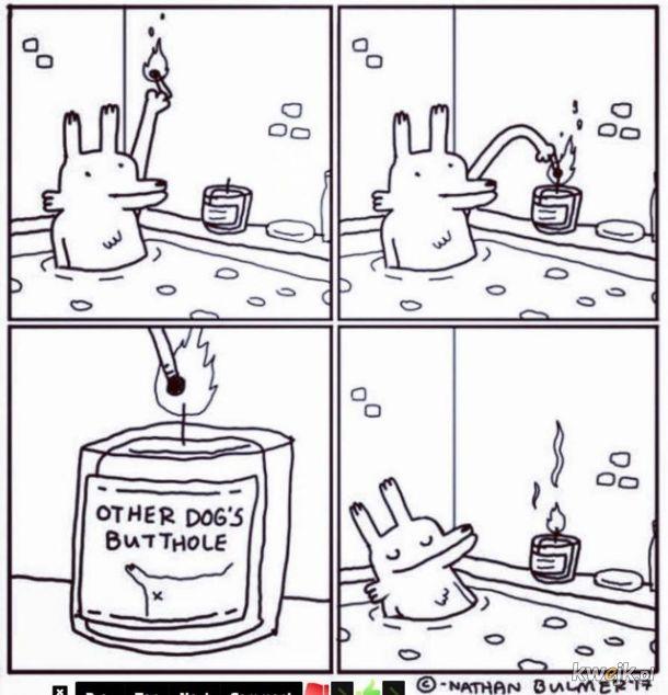 Świece zapachowe.