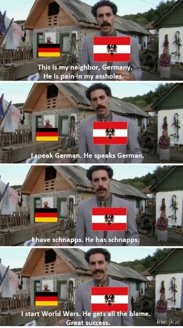 Największy w historii sukces Austrii: przekonać świat, że Hitler był Niemcem.