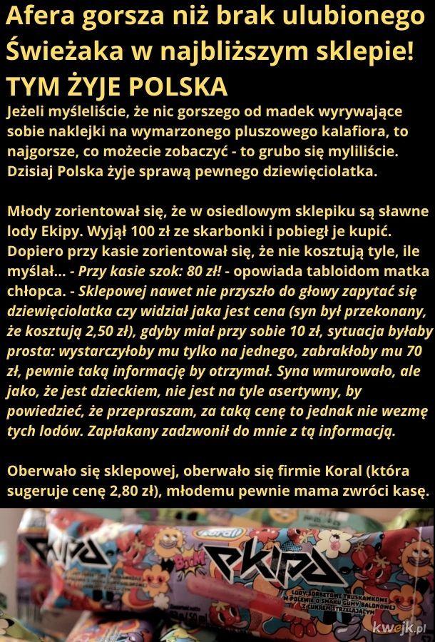 Tym żyje Polska
