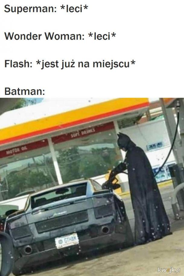 Takie życie superbohatera
