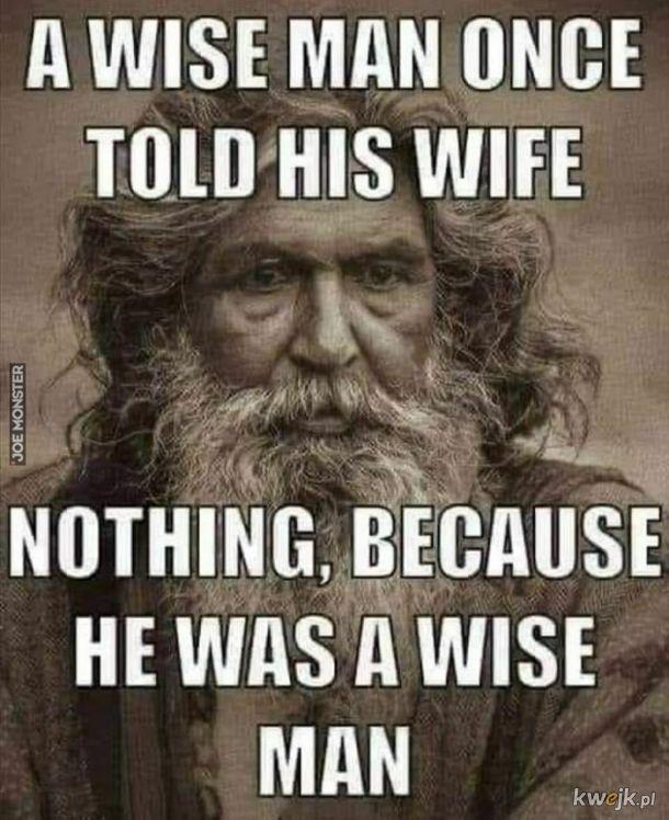 mądrze..