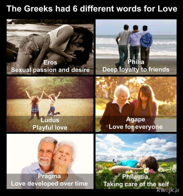 Różne oblicza miłości