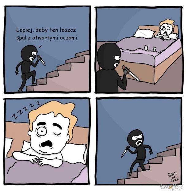 Parasomnia bywa przerażająca