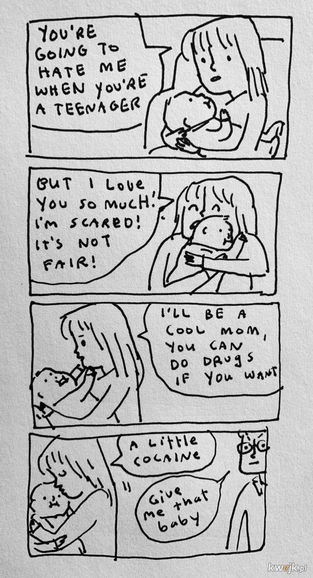 """""""Spoko matka"""" to piekło dziecka."""