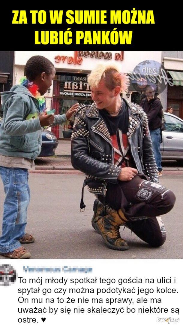 Punk punkowi punkiem
