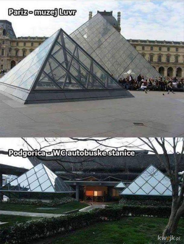 Jaki Paryż, takie piramidy