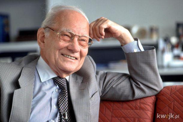 Dziś mamy 94. rocznicę urodzin  Manfreda Eigena