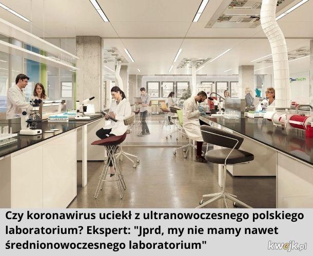 Ultranowoczesne laboratorium