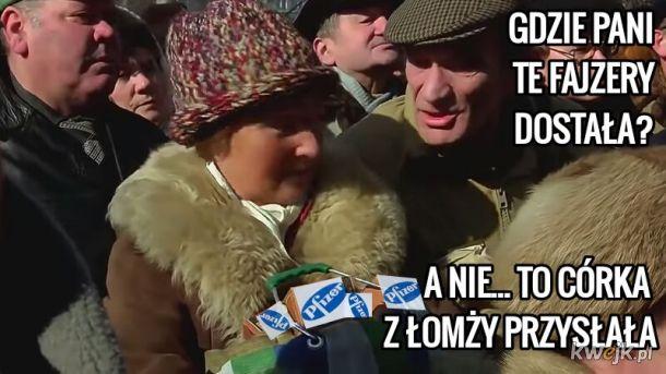 W Warszawie ponoć Fajzery rzucili!!!
