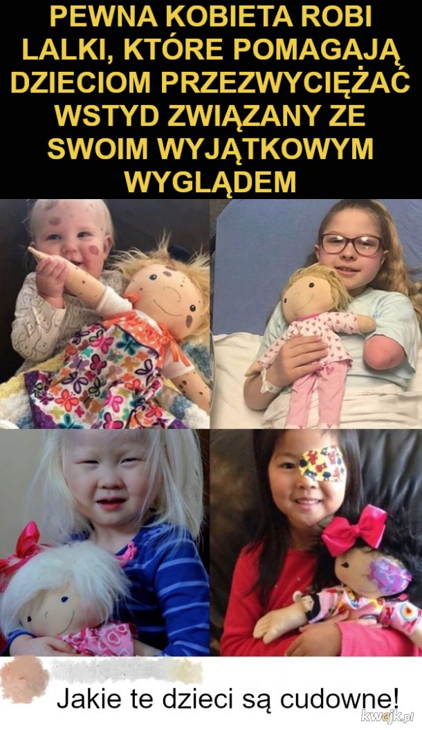 Wyjątkowa lalka dla wyjątkowych dzieci