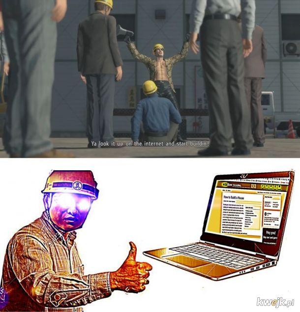Fachowcy podczas pracy