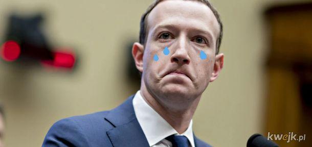 Zuckerberg kiedy 5 pięciu Polskich antyszczepiąkowców napisze że przestaje używać Facebooka bo wspiera program szczepień.