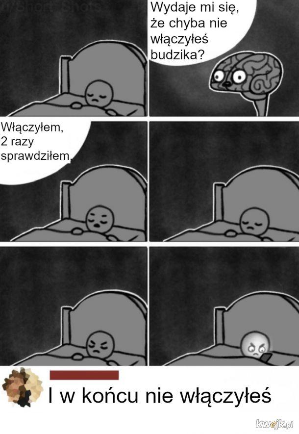 Mózg o 3 w nocy