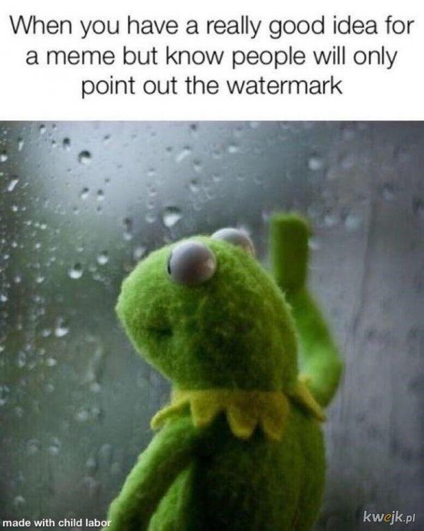 Znaki wodne.