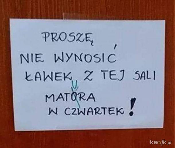 Bo to pisała Pani od anglika, a nie polskiego