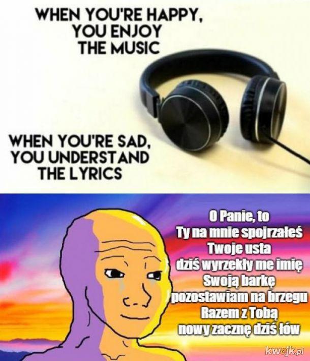 Piękne słowa piosenki