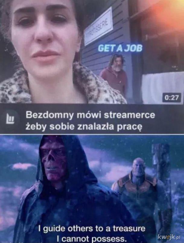 Bezdomny vs streamerka