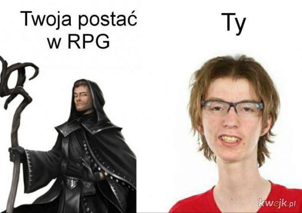 Postać w RPG