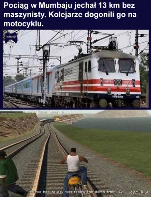 Pociąg w Mumbaju