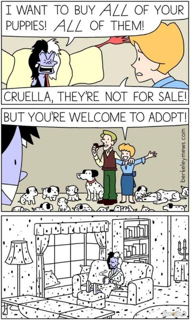 Nie sprzedamy. Ale możesz adoptować.