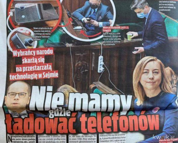 Dramaty w Sejmie