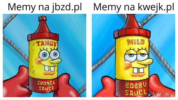 Różnica między jbzd.pl a Kwejk'iem