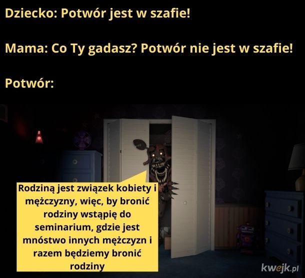 Potwór jest w szafie