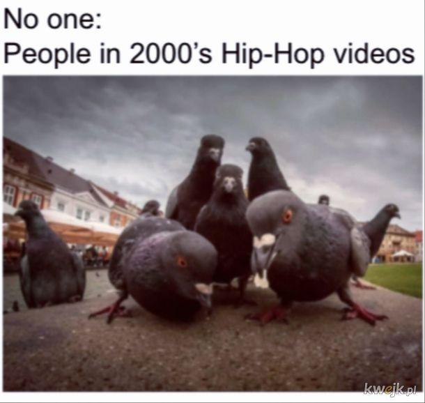 Hip hopowe teledyski takie były xd