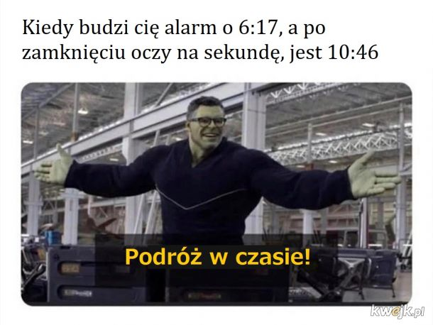 To był moment..