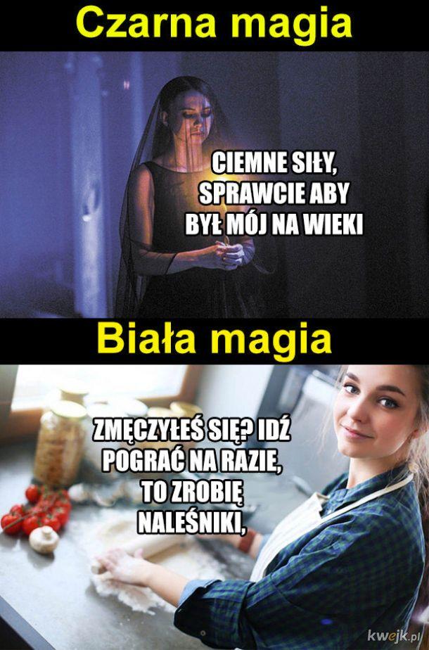Czarna vs biała magia