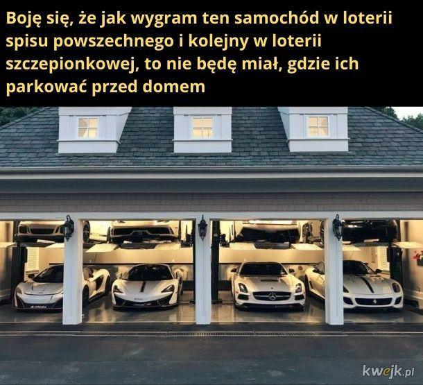 Powinni zrobić loterię garażową
