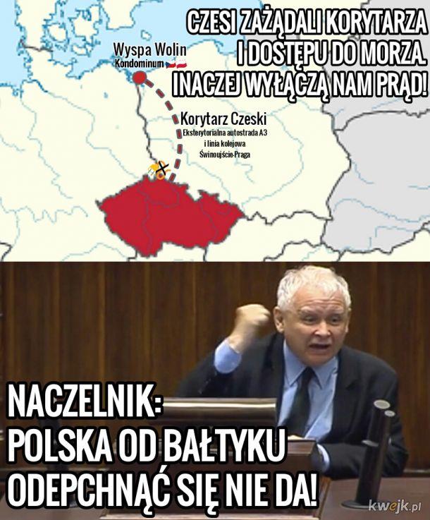 Na granicy polsko-czeskiej spokój...