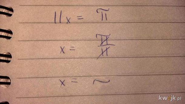 Alternatywna matematyka