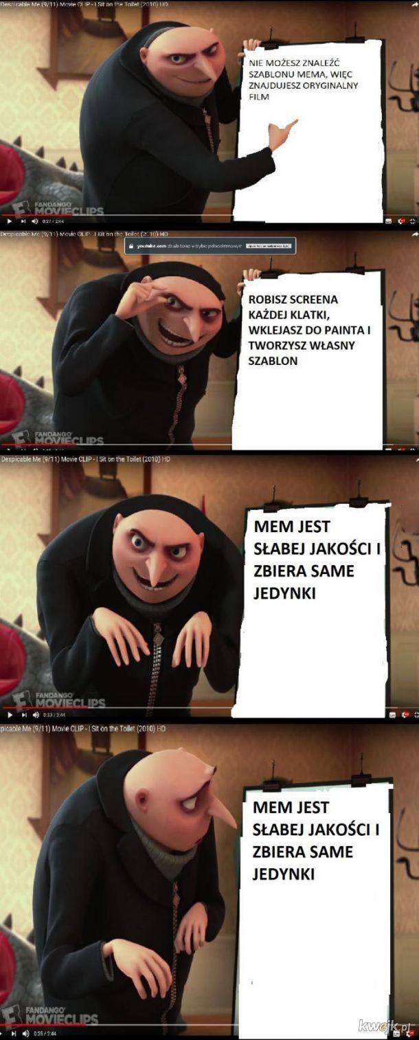 Szablon mema