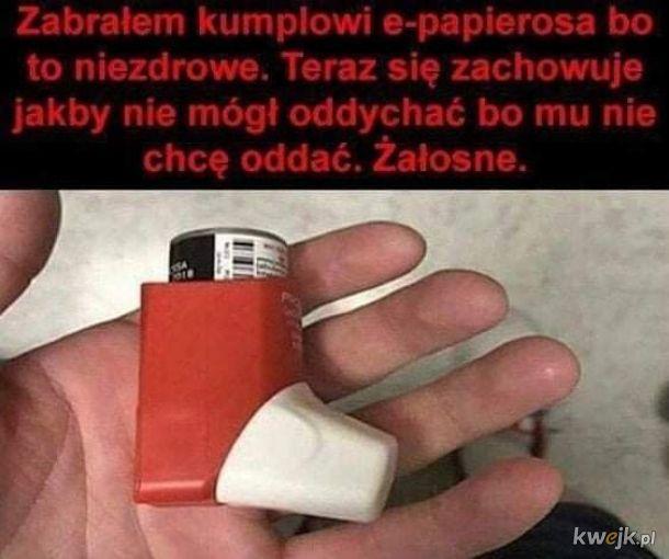 No tak palenie to zło