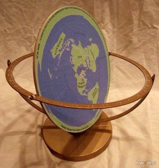 Globus płaszczaków ...
