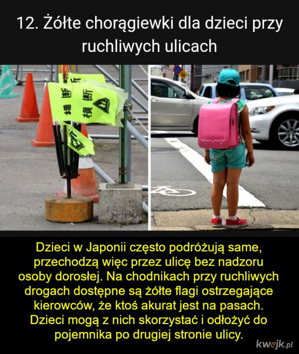 Rzeczy po których stwierdzisz, że Japonia to kraj, który troszczy się o każdego, obrazek 13