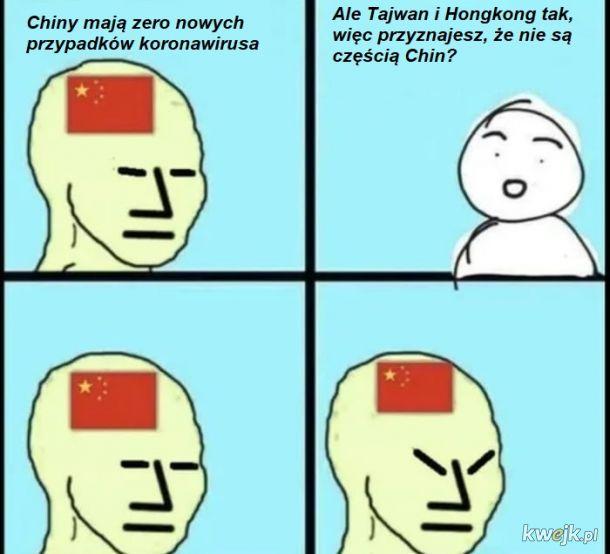 """Jeśli ktoś zaatakuje Tajwan, czy Chiny będą bronić """"swojego terytorium""""?"""