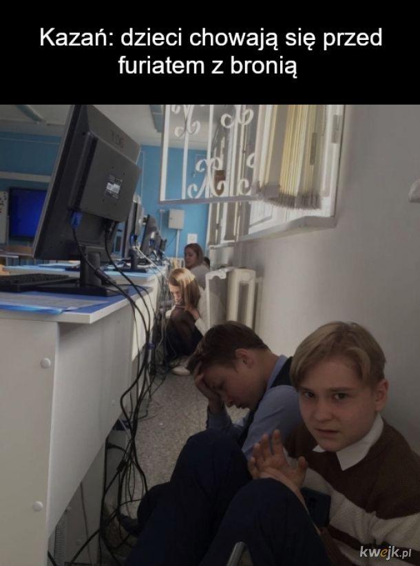 Zdjęcia ze strzelaniny w szkole