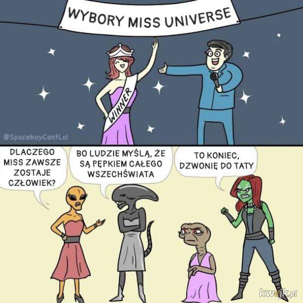 Komiksy Spaceboy Can't LOL