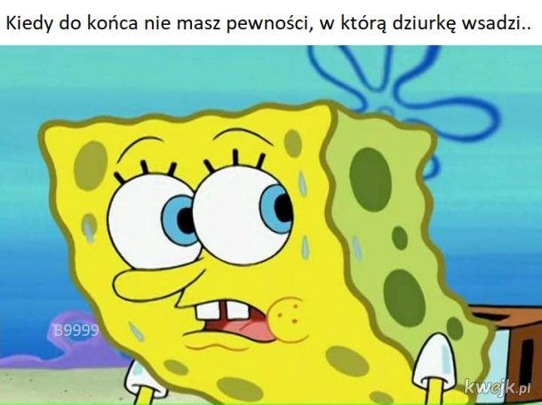 SpongeBob ma wiele dziurek